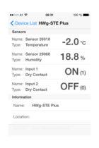HWg-STE monitor