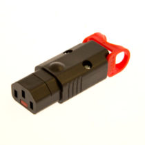 IEC Lock + C13 Rewireable Connector