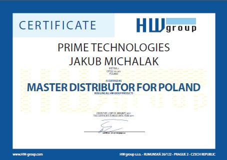 Widok certyfikatu