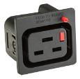 Gniazdo C19 IEC Lock