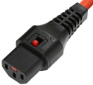 Wtyk C13 IEC Lock