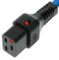 Wtyk C19 IEC Lock